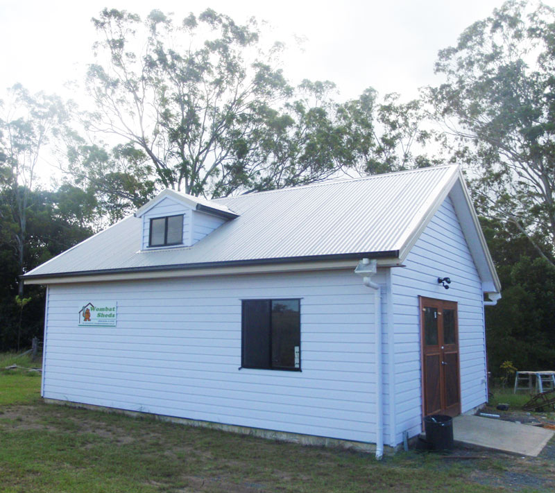 Sheds To Live In Timber Barns Steel Sheds Wombat